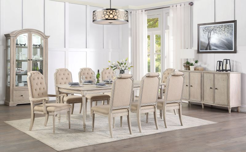 Wynsor Formal Dining Room Set Single Leaf