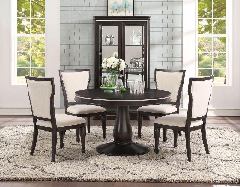 Lorenzo Formal Round Dining Room Set