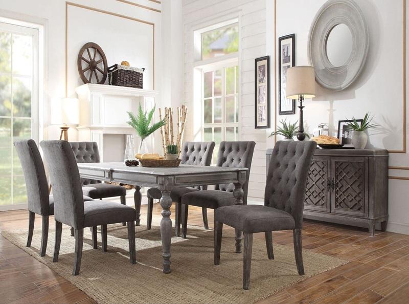 Acme | 70415 Godeleine Dining Room Set | Dallas Designer Furniture