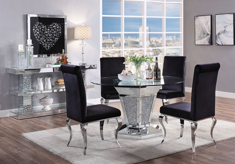 Noralie Dining Room Set with Round Table