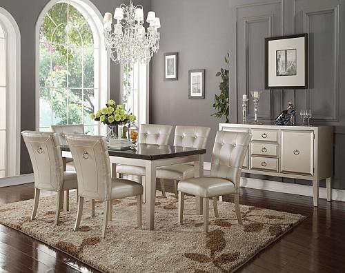 Voeville II Formal Dining Room Set
