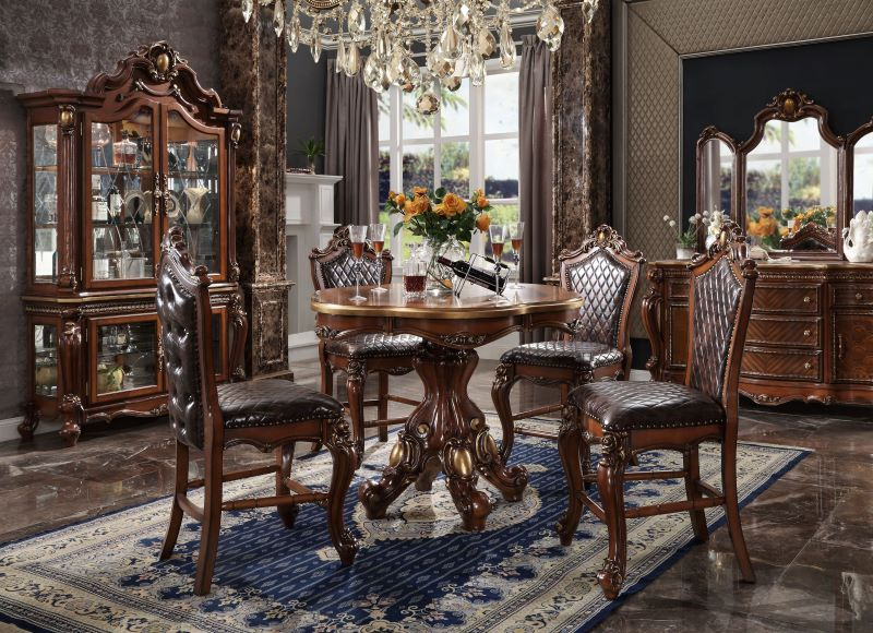 Picardy Counter Height Formal Dining Room Set