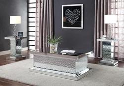 Nysa Pedestal Coffee Table Set