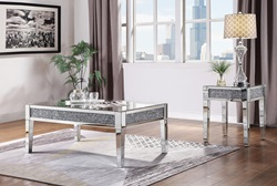 Noralie Coffee Table Set with Leg Table