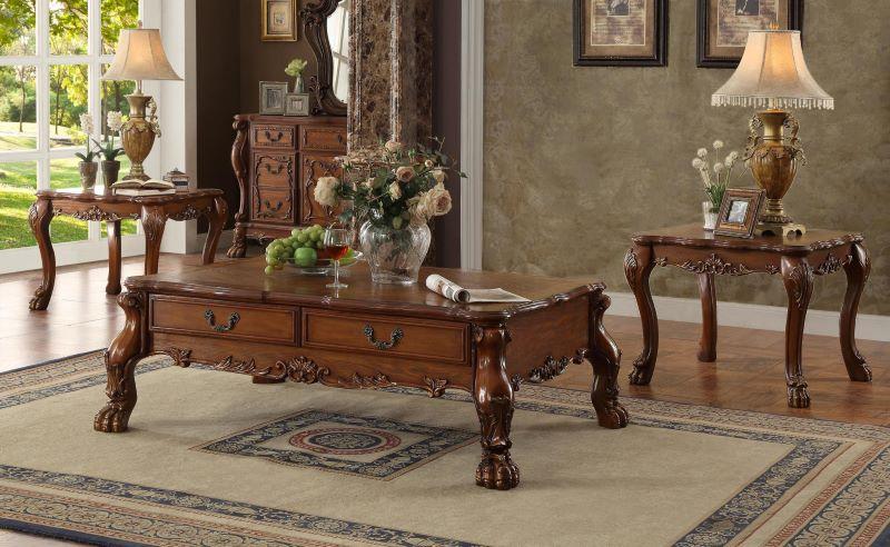Dresden Formal Living Room in Cherry Oak