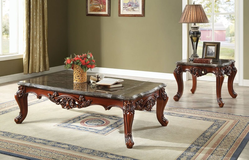 Eustoma Coffee Table Set