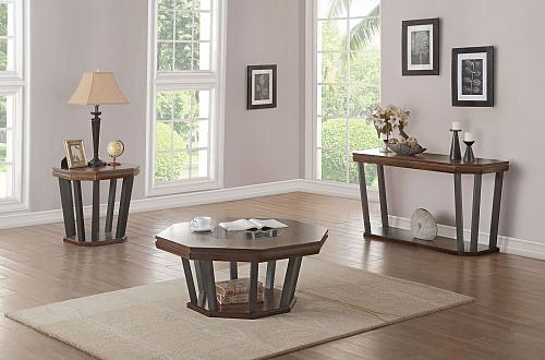 Selma Coffee Table Set with Octagonal Top