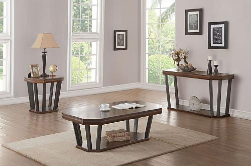 Selma Coffee Table Set with Rectangular Top