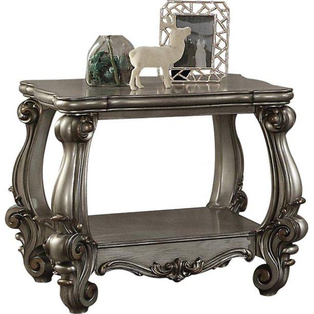 Versailles Platinum End Table *Clearance*