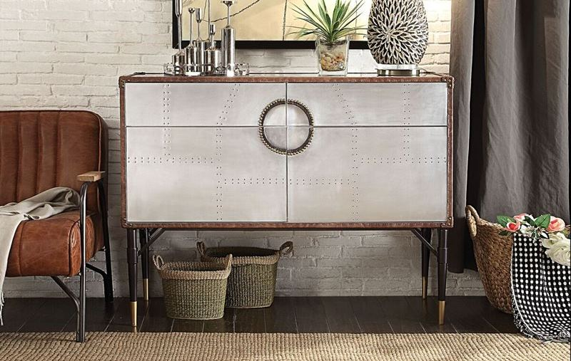 Acme 90030 Rosy Console Table Dallas Designer Furniture