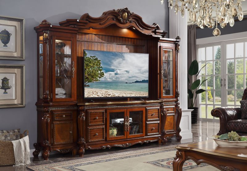 Picardy Entertainment Center in Cherry Oak