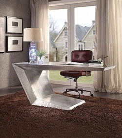 Brancaster Aluminum Office Desk