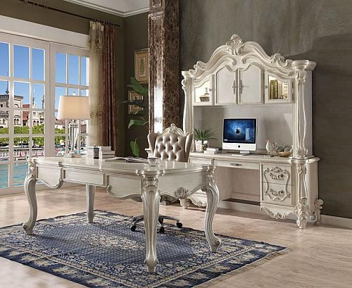 Versailles Executive Desk Set in White
