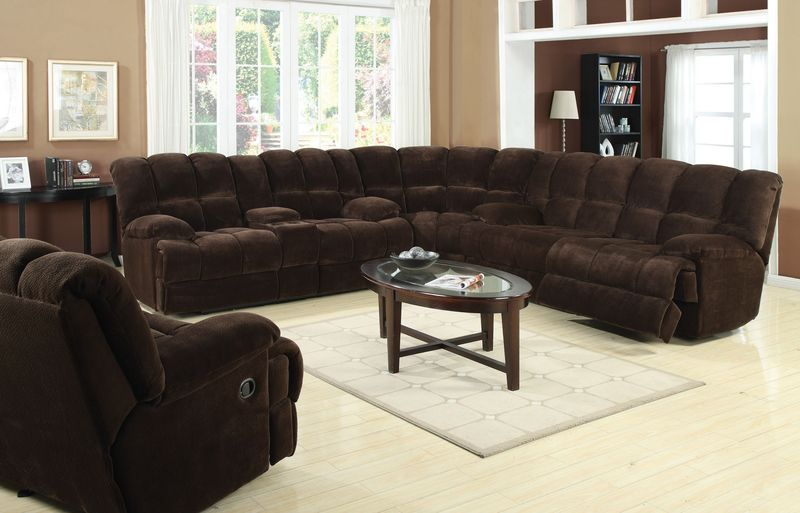 Acme | 50478 Ahearn Reclining Sectional | Dallas Designer Furniture
