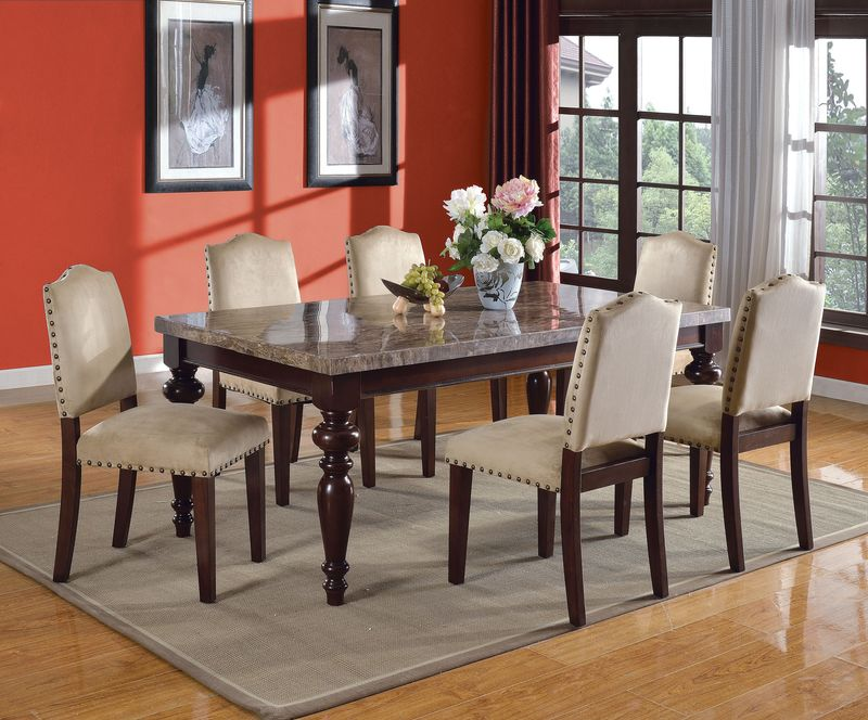 Zamora Formal Dining Room Set Bandele With Upholstered Chairs