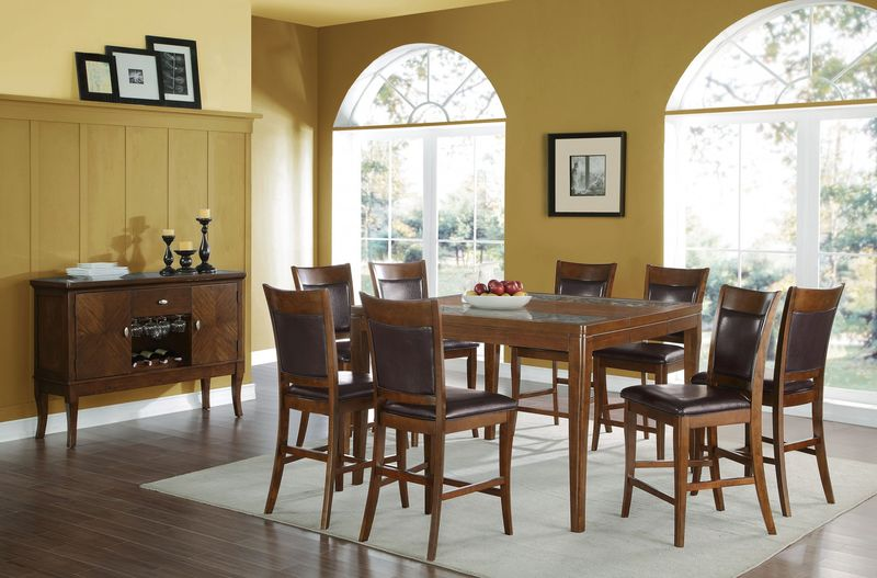 Belinda Counter Height Dining Room Set