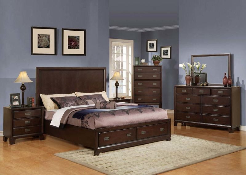 Bellwood Bedroom Set with Storage Bed