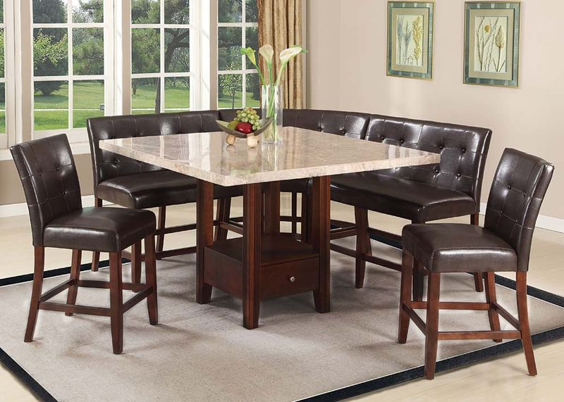 Britney Modular Counter Height Dining Room Set