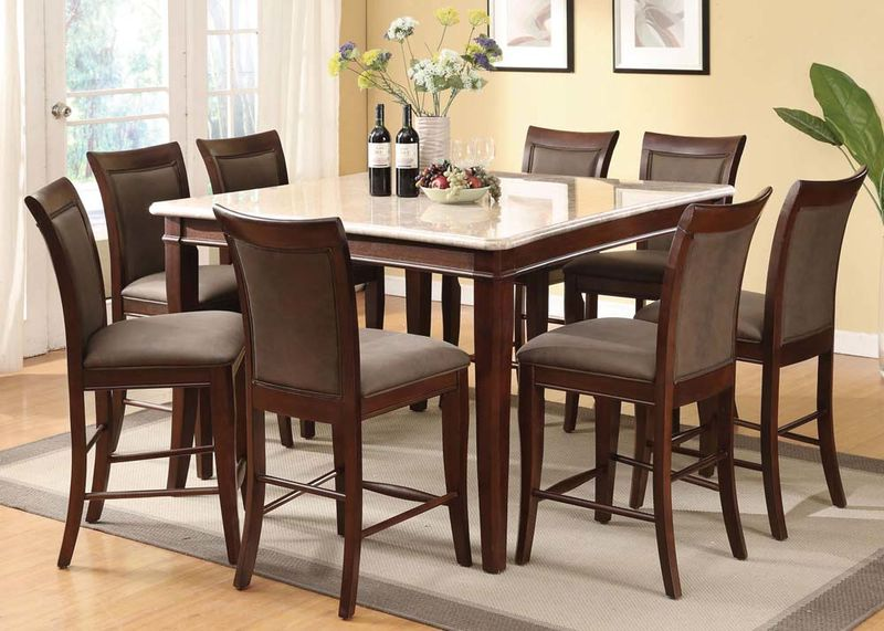 Britney Counter Height Dining Room Set