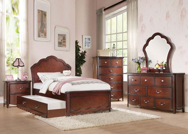 Cecilie Youth Bedroom in Cherry