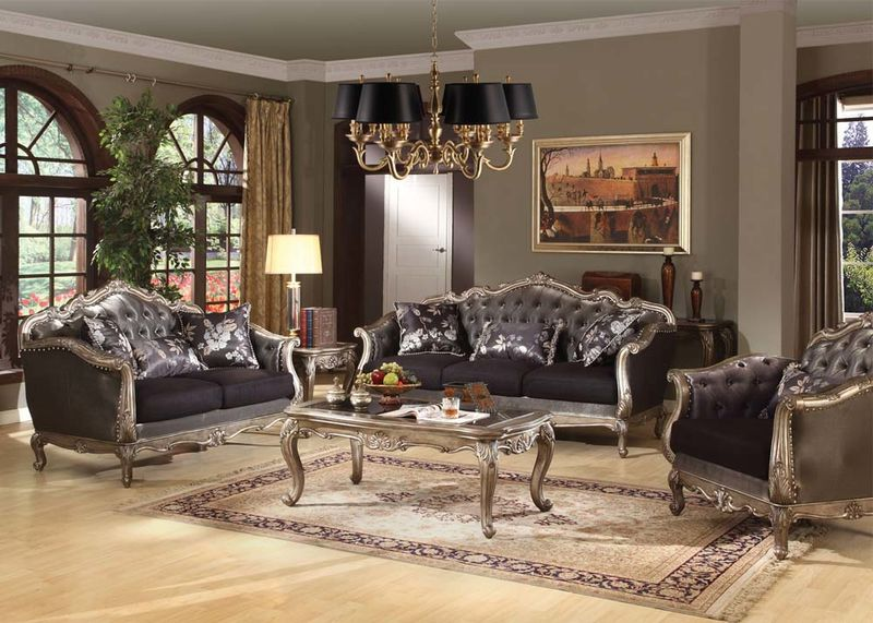 Dallas Designer Furniture | Chantelle Formal Living Room Set