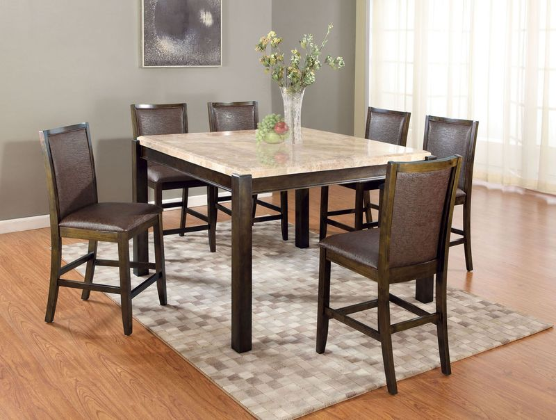 Charissa Counter Height Dining Room Set