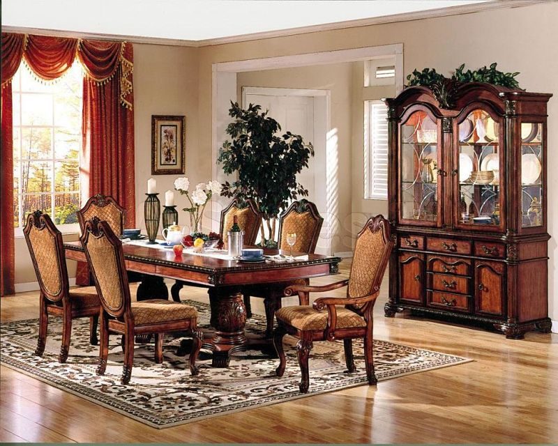 Chateau De Ville Formal Dining Room Set in Cherry