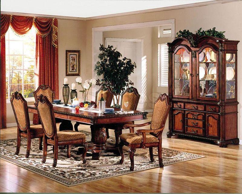 Acme 04075 Chateau De Ville Formal Dining Room Set In