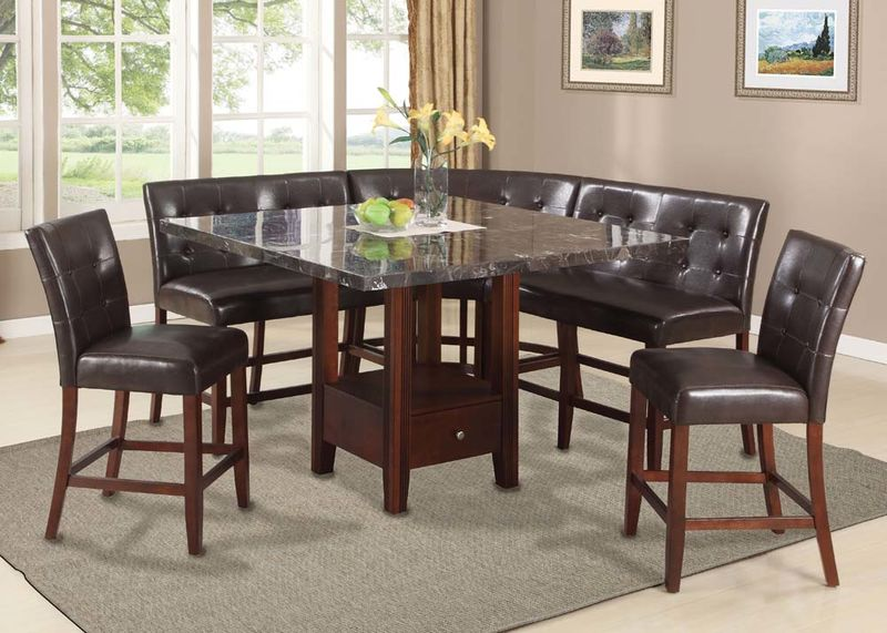 Danville Modular Counter Height Dining Room Set