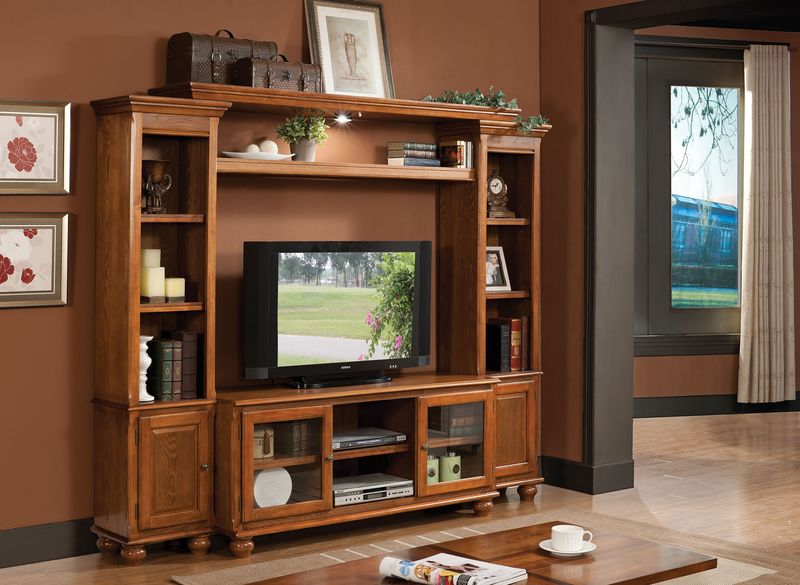Dita Entertainment Center in Oak