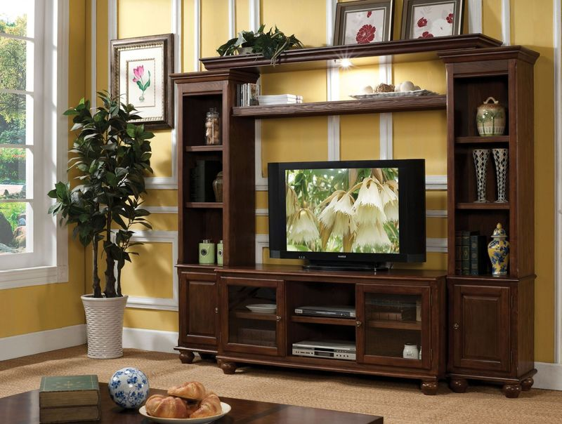 Dita Entertainment Center in Walnut