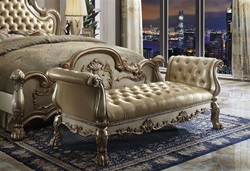 Dresden Bench Seat in Gold