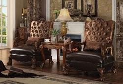 Dresden Accent Chair in Brown