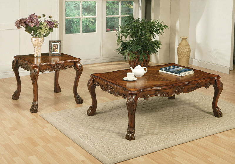 Dresden Coffee Table Set in Cherry