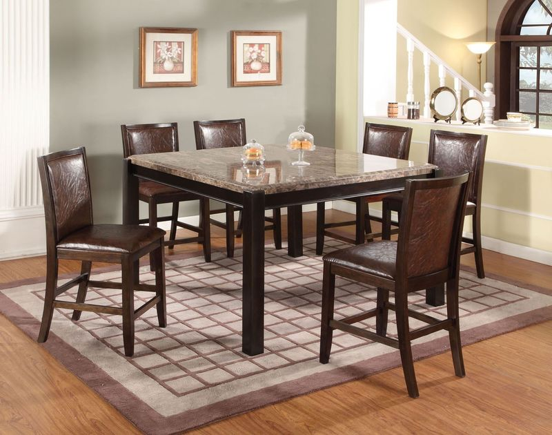 Dwayne Counter Height Dining Room Set