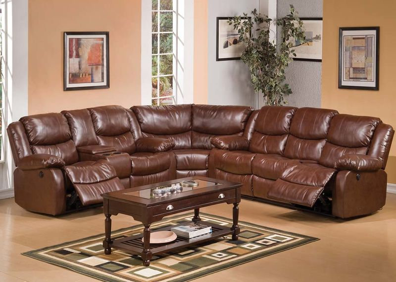 Fullerton Reclining Sectional with Power Motion