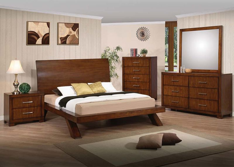 Galleries Bedroom Set with Platform Bed