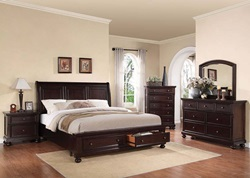 Grayson Bedroom Set with Storage Bed