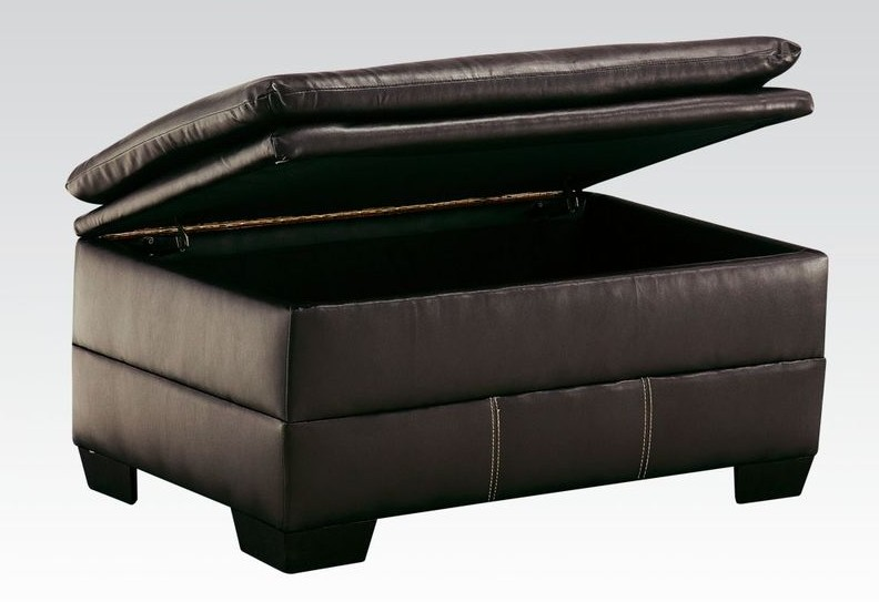 Hayley Living Room Set in Chocolate