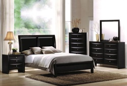 Ireland Bedroom Set in Black