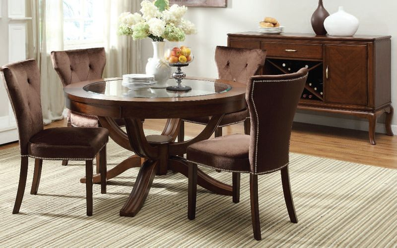 Kingston Formal Dining Room Set With Round Table