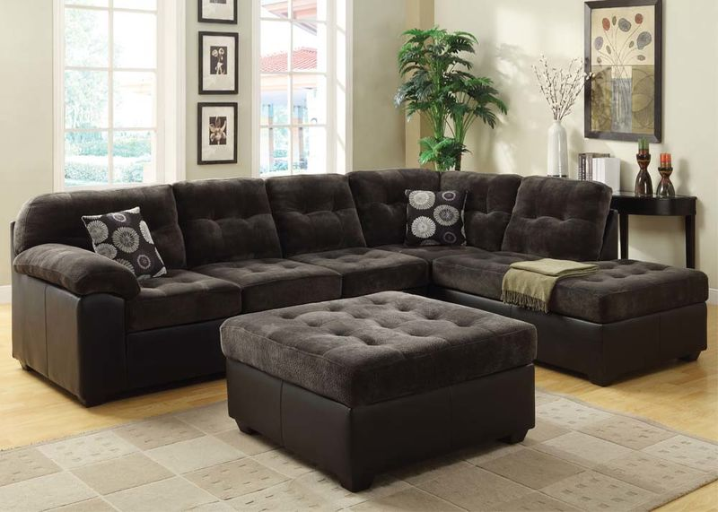 Layce Sectional in Olive