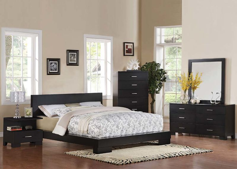 London Bedroom Set in Black