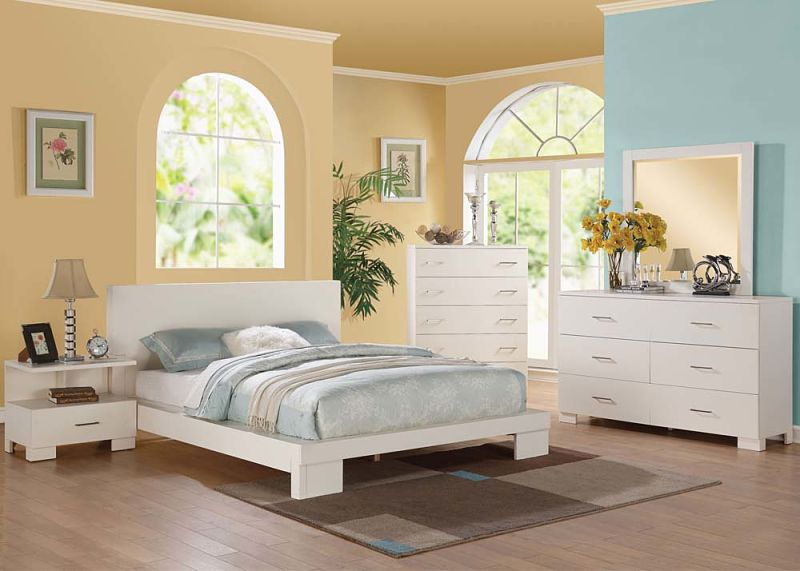 London Bedroom Set in White