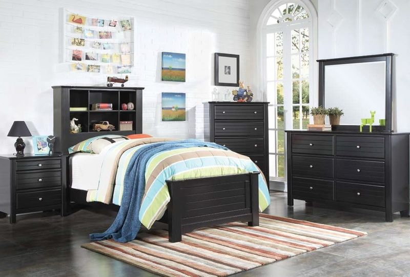 Mallowsea Youth Bedroom Set in Black