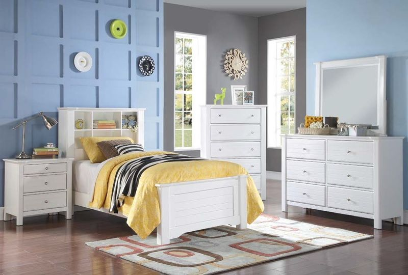Mallowsea Youth Bedroom Set in White