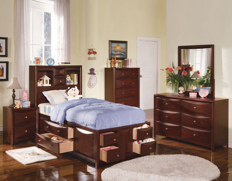 Manhattan Youth Bedroom Set with Storage Bed