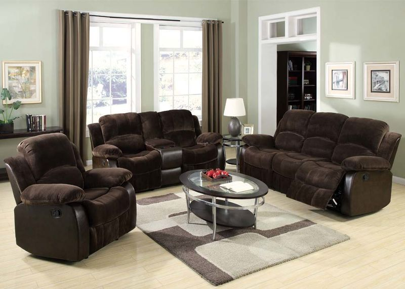 Masaccio Reclining Living Room Set
