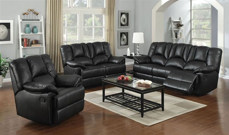 Obert Reclining Living Room Set in Leatherette