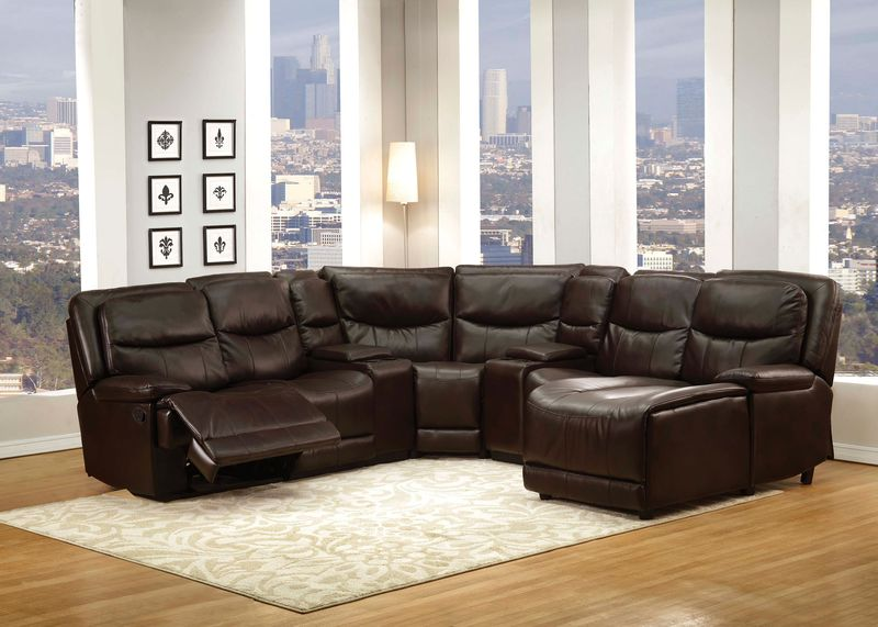 Osrose Reclining Sectional